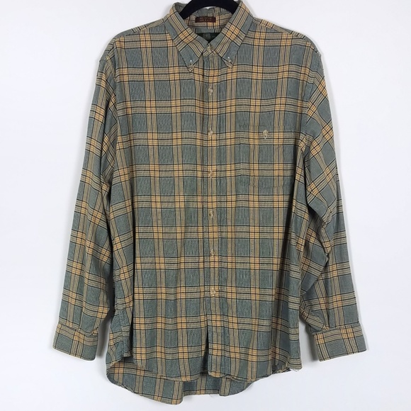 Orvis Other - Orvis Men's Checked Flannel Button Down Shirt